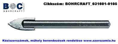 BOHRCRAFT hengeresszárú üvegfúró d3,0x58xS3,0