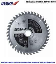 DEDRA körfűrésztárcsa keményfém váltó fogazattal HM D190x20 Z60/WZ