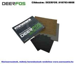 DEERFOS vízpapír AC768 A/4 230x280 P150C, 50db/csomag