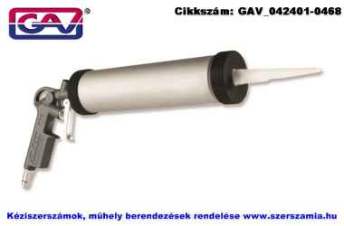 GAV sűrített levegős kartuspisztoly 60S