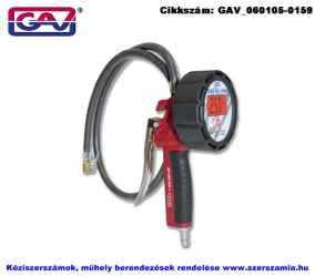 GAV digitális kerékfúvató pisztoly 0-12bar 100cm 60GD80