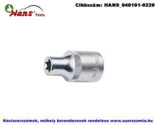 HANS 1/4 col E-STAR dugókulcsfej E4 2410E04