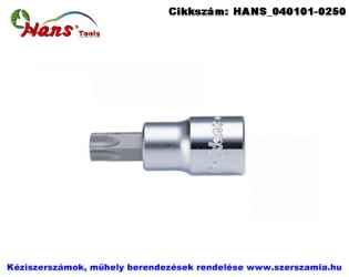 HANS 1/4 col furatos TORX bit-dugókulcsfej TH8 2025TH08