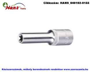 HANS 3/8 col E-STAR hosszú dugókulcsfej E6x66mm 3310E06