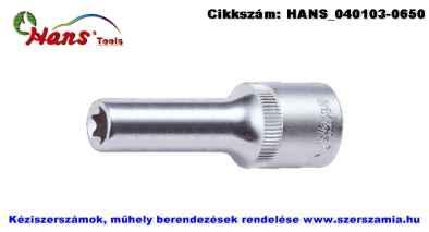 HANS 1/2 col E-STAR hosszú dugókulcsfej E24x76mm 4310E24