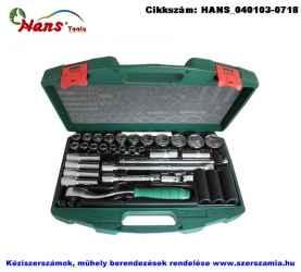 HANS 1/2 col dugókulcs készlet 34 részes 8-34mm 4634M