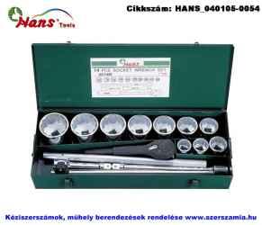 HANS 1 col dugókulcs készlet 14 részes 36-80mm 8614M