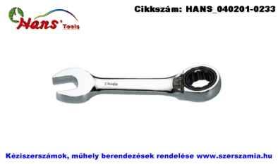 HANS racsnis csillag-villás kulcs, irányváltós, rövid 8mm 1166S08