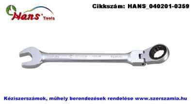 HANS racsnis csillag-villás kulcs, csuklós 7mm 1165FM07