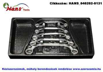 HANS önindító kulcs készlet 5 részes 10-22mm TT-36 fiókmodul