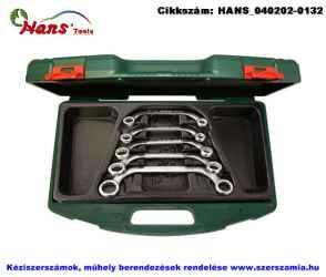 HANS önindító kulcs készlet 5 részes 10-22mm TTK-36 szerszámos ládában