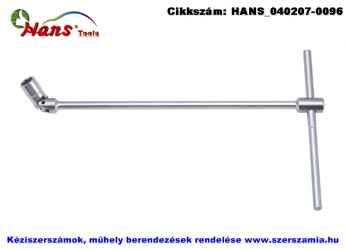 HANS T-kulcs, kardáncsuklós 6x390mm 1020M06