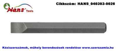 HANS 5/16 col lapos bit hegy S2 SL8x1,2x80 012-8M08, 6db/csomag