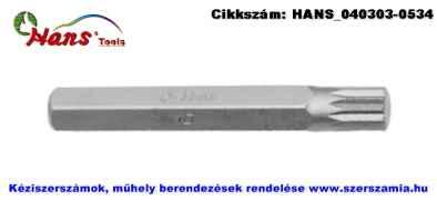 HANS 10mm XZN bit hegy S2 M5x75 083-7M05, 5db/csomag