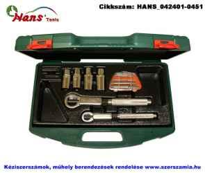 HANS csavareltávolító készlet 11 részes TTK-14 szerszámos ládában