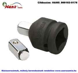 HANS 3/4 col gépi átalakító készlet cserélhető betéttel 1 plusz 2 részes 3/4 col 1/2 col 86884