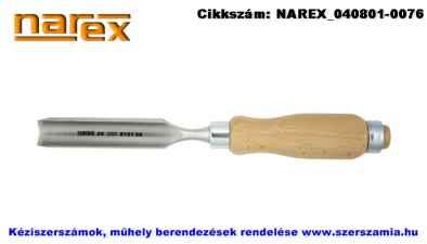 NAREX holker asztalosvéső fa nyéllel lyukvésők 8x114/262 812108