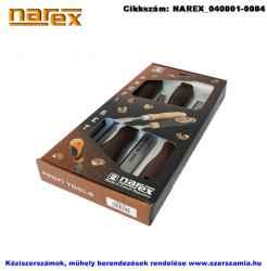 NAREX asztalosvéső készlet műa. nyéllel 4 részes 6-12-20-26mm 860300