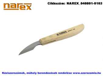 NAREX fafaragókés széles, nagyívű 50/154 894110