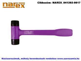 NAREX cserélhető gumifejes kalapács 470g d36 875202