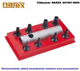 NAREX bőrlyukasztó készlet 9 részes 2-9mm 854700