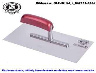Glettelő INOX 130x280mm Profi