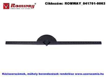 ROMWAY csempevágó vonalzó 540911-750