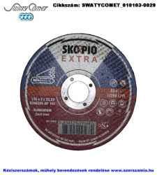 SwatyComet / SKORPIO EXTRA/SPECIAL vágókorong öntött vasra és alura d125x3,0x22,2 E54A30S-BF, 25db/csomag