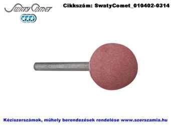 SwatyComet csapos csiszolókő, gömbölyű rózsaszín d15xS6 4A60P4V F52H