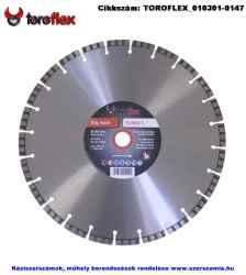 TOROFLEX TURBO LASER gyémánttárcsa d350x25,4/SH10