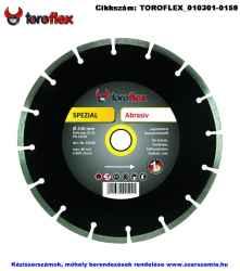 TOROFLEX Abrasiv gyémánttárcsa d115x22,2/SH7