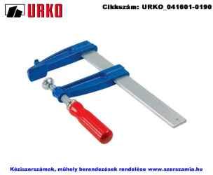URKO párhuzamszorító fa markolattal 120x400/35x8mm U3