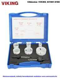 VIKING villamossági körkivágó készlet 6 plusz 2 részes d22-64 S-175