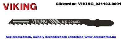 VIKING egybütykös szúrófűrészlap fára HCS 75/4,0 NK2244D 5db