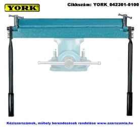 YORK kézi élhajlító, satuba fogható 250mm ROP 250