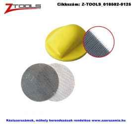 Z-TOOLS tépőzáras csiszolóháló d150/C80 5db