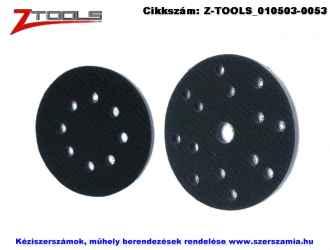 Z-TOOLS tépőzáras puha közbetétek d125 8 lyukas