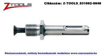 Z-TOOLS SDS-Plus tokmány-adapter SDS-Plus 1/2 col-20UNF