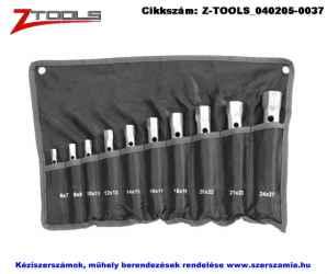 Z-TOOLS csőkulcs készlet 10 részes 6-27mm