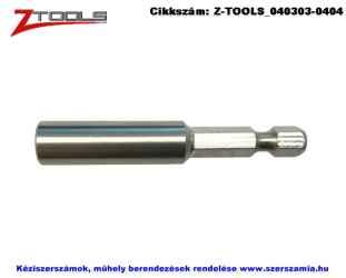 Z-TOOLS mágneses bitbefogó INOX 1/4 colx60mm monoblokk