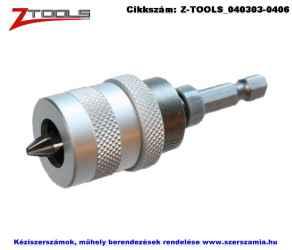 Z-TOOLS kuplungos bitbefogó 1/4 colx75mm plusz bit PH2x25