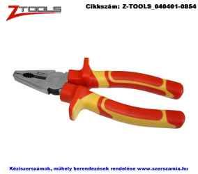 ZO-TOOLS szigetelt egyetemes fogó 180mm CrV