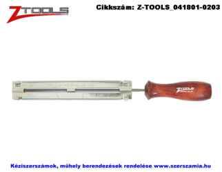 Z-TOOLS láncreszelő sablon klt. 3 részes d4,0mm