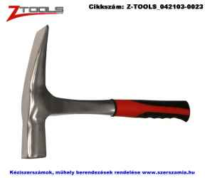 ZO-TOOLS kőműves kalapács Rajnai típusú 600g monoblokk ERGO