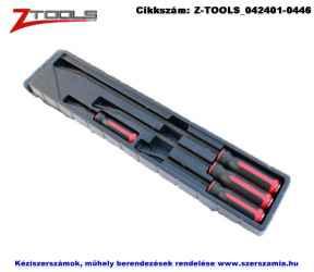 Z-TOOLS feszítő készlet üthető fémvégű nyéllel 4 részes 200/300/460/610mm CrMo