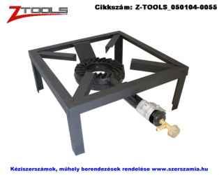 Z-TOOLS gázzsámoly 8kW 4 lábú öntöttvas - acél