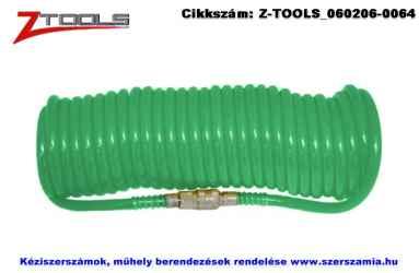 Z-TOOLS polyuretán spiráltömlő 10m/8x12