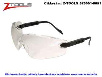 Z-TOOLS védőszemüveg víztiszta ZTE2988V, 10db/csomag