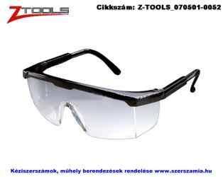 Z-TOOLS védőszemüveg víztiszta ZTE2533V, 10db/csomag