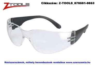 Z-TOOLS védőszemüveg víztiszta ZTE2773V, 10db/csomag